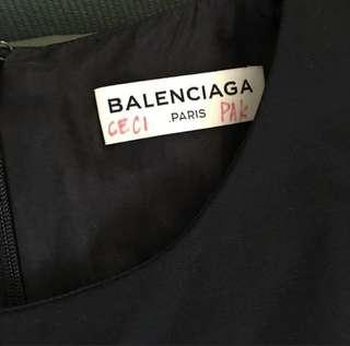 Balenciaga Tent Dress in Black