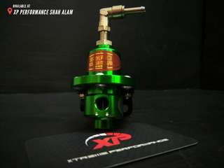 Fuel pressure Regulator SARD adjustable fitment Green color