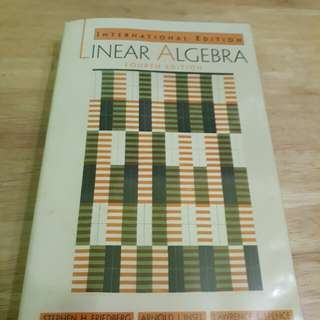 MA2101 Linear Algebra 4th Ed