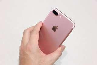 Iphone7 plus 128G 玫瑰金