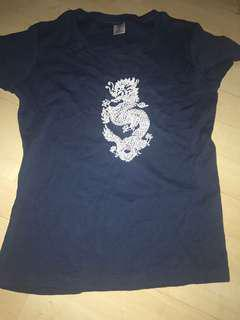 Dragon graphic shirt