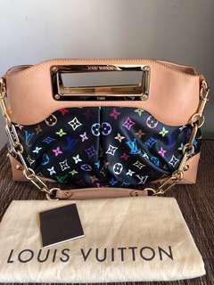 💯Authentic Louis Vuitton Multicolore Judy MM Bag EUC