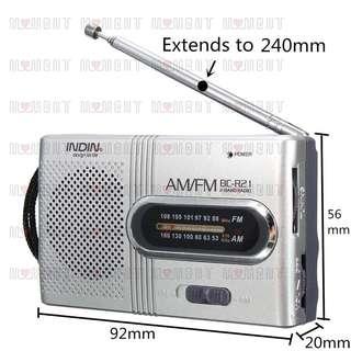 📻🎼Portable Pocket FM/AM Radio