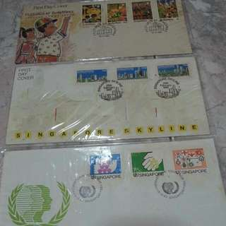 First day Cover Singapore