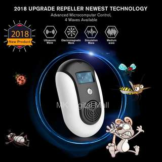 ★ NEW 2018 UPGRADED Smart Electronic Pest Repellent ★ Non-toxic way to repel mosquito and other pest