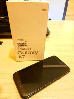 Samsung Galaxy A7 2017 NTC Duos complete set