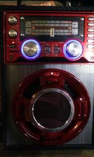 Am fm sw1 sw2 4 band radio with usb sd player
