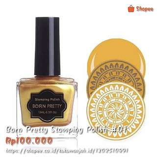 Born Pretty Stamping Polish #01