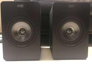 KEF X300A 有線版 黑色