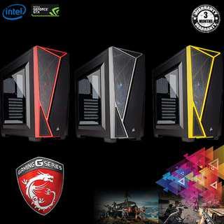 1440p Mid-End Gaming Desktop [CHEAP] - i5-8500 + MSI GTX 1060 6GB + 8GB Ram + SSD