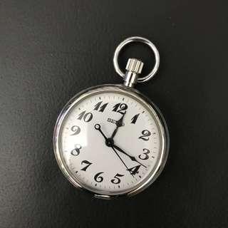SEIKO POCKET WATCH 鐵路時計 懷中時計 陀錶