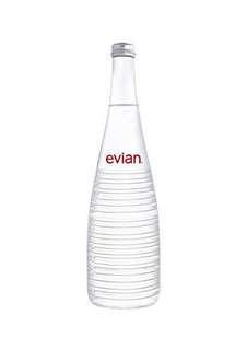 Evian Alexander Wang Limited Edition Glass Bottle 750ml