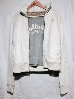 Abercrombie off-white jacket