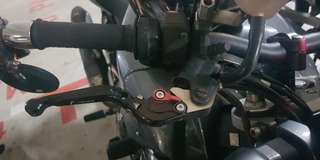 Fz1/mt09 brake and clutch adjustable lever