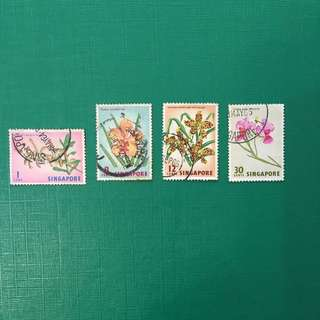 Old Singapore Stamps