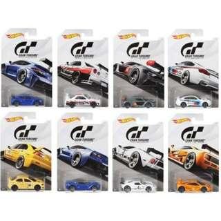 HotWheels 2018 Gran Turismo 8-car Set