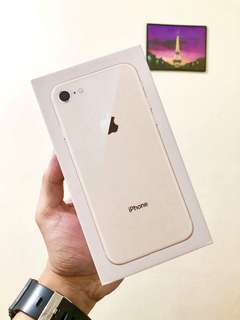Brandnew amd sealed iphone 8. 128GB FU