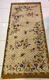 Vintage hand drawn batik