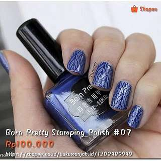 Born Pretty Stamping Polish #07