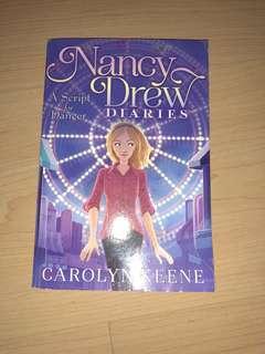 Nancy Drew-A script for danger