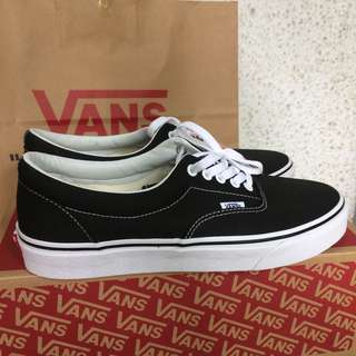 Vans era black white original BNIB no authentic oldskool sk8