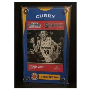 Stephen Curry Sports Card NBA Champion