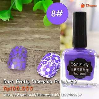 Born Pretty Stamping Polish #08
