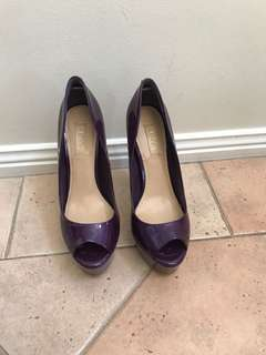 Purple Siren high heel pumps