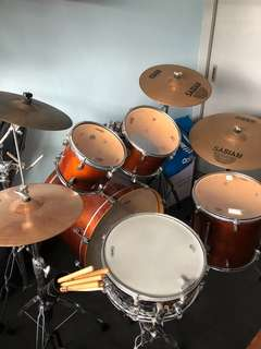 Mapex Horizon 5-piece Drumset