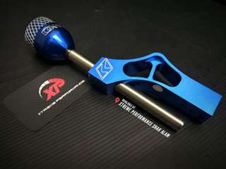 KTUNED Billet Short Shifter Blue Color long version