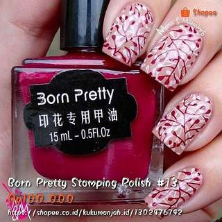 Born Pretty Stamping Polish #13