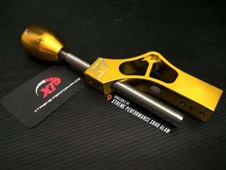 KTUNED Billet Short Shifter Gold Color long version