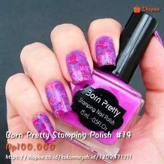 Born Pretty Stamping Polish #14