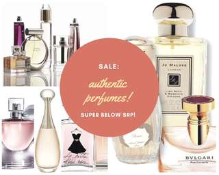 100% authentic perfumes!!