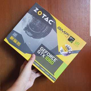 USED Zotac gtx1060 6gb