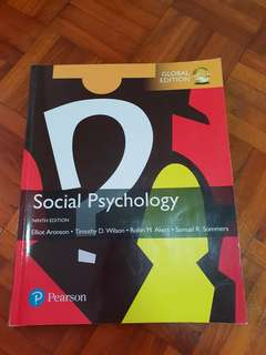 Social Pyschology- Ninth Edition