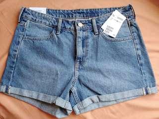 Denim Short Pants H&M (Celana Pendek Jeans)