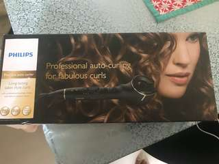 Phillips auto hair curler