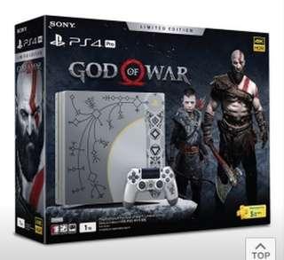BNIB PS4 PRO GOD OF WAR EDITION
