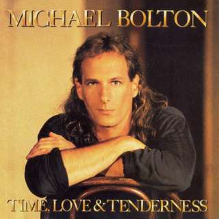 CD USA Michael Bolton – Time Love & AND Tenderness