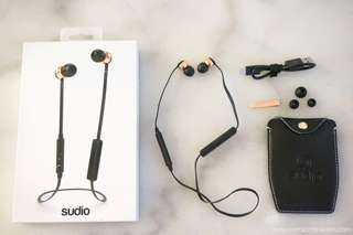 Sudio Rosegold Wireless Earphones