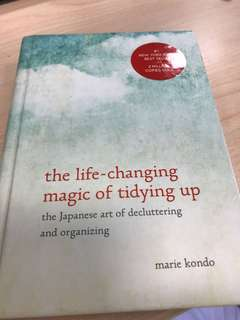 Marie Kondo the life changing magic of tidying up