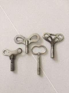 Old Winding keys