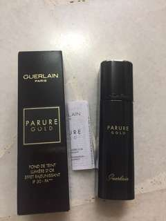 Guerlain Paris Parure Gold fluid foundation