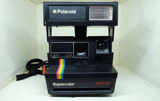 Polaroid 寶麗來 600型 Supercolor 635CL 黑彩 拍立得
