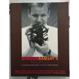 🚚 2 books - From culinary greats 1) Gordon Ramsay 2) Christopher Styler