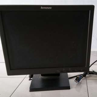 Spoilt Lenovo Monitor for sale at $39 including a free Keyboard