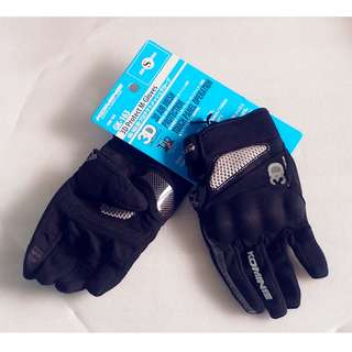 Brand New KOMINE Motorcycle Gloves * Motocross * Scrambler * Offroad * Dirt Bike * Instock very rare size S *