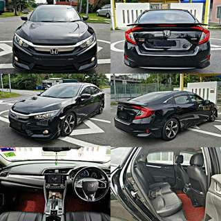 HONDA CIVIC FC 1.5 TURBO(2016) SAMBUNGBAYAR