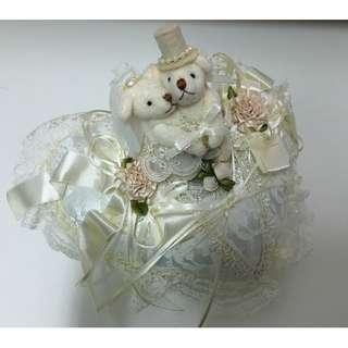 結婚戒指枕